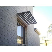Slat Awning   Housing materials   Pinterest   Doors ...