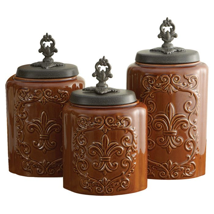 798 best images about Kitchen canisters on Pinterest