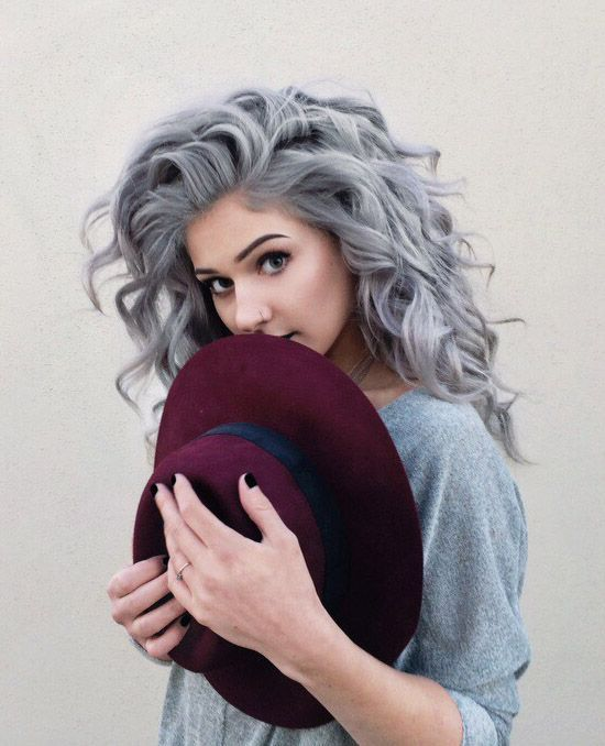 25 Best Ideas About Dyed Gray Hair On Pinterest Grey Dyed Hair