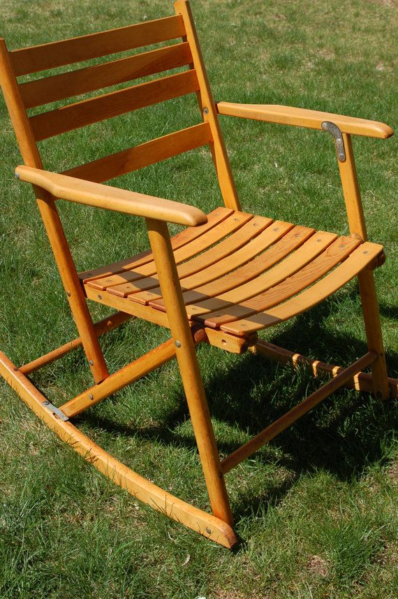 Antique Folding Rocking Chair  WoodWorking Projects  Plans