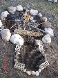 keyhole firepit | Cooking Outdoors | Pinterest | Cooking ...