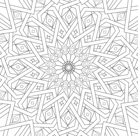 1000+ images about Islamic coloring on Pinterest
