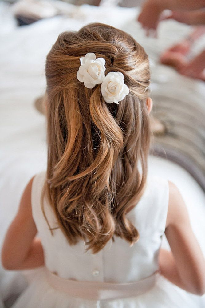 Wedding Hairstyle For Kids