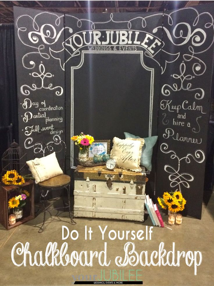 Your Jubilee How To Build Your Own Backdrop  DIY