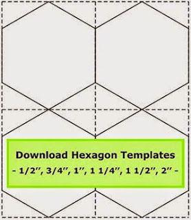 Tips For Cutting Hexagon Templates Getas Quilting Studio