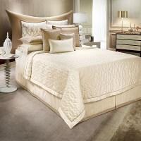 Jennifer Lopez bedding collection Alabaster Coverlet ...