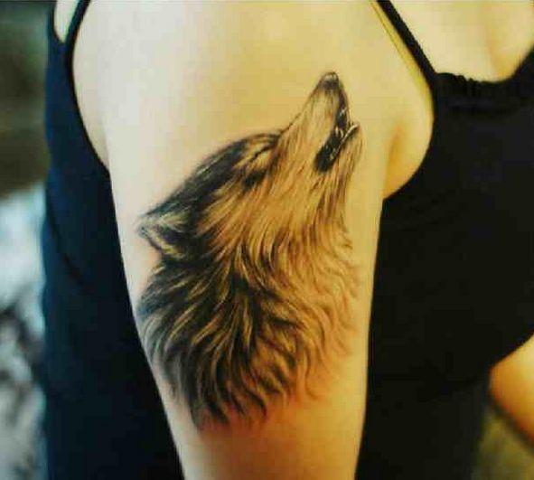 20 Spiritual Henna Tattoos Wolf Howling Ideas And Designs