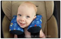 Baby Travel Pillow Tutorial - Stay Put Pillow - DIY ...