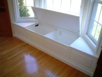Bay Window Storage Bench - WoodWorking Projects & Plans