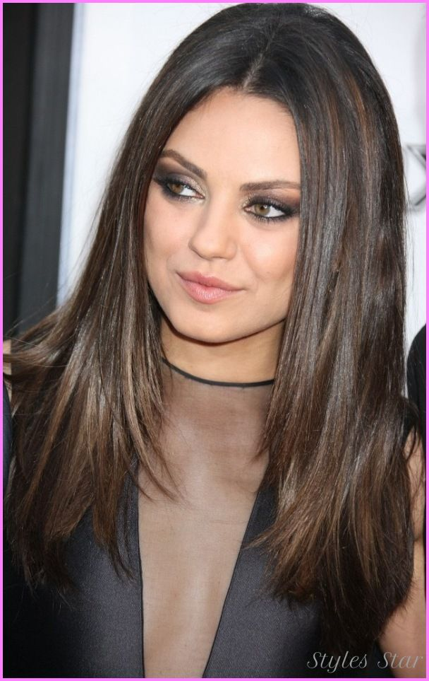 25 Best Ideas About Long Straight Haircuts On Pinterest