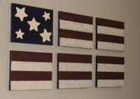 Americana Wall Decor - Acrylic Paint on Canvas, American ...