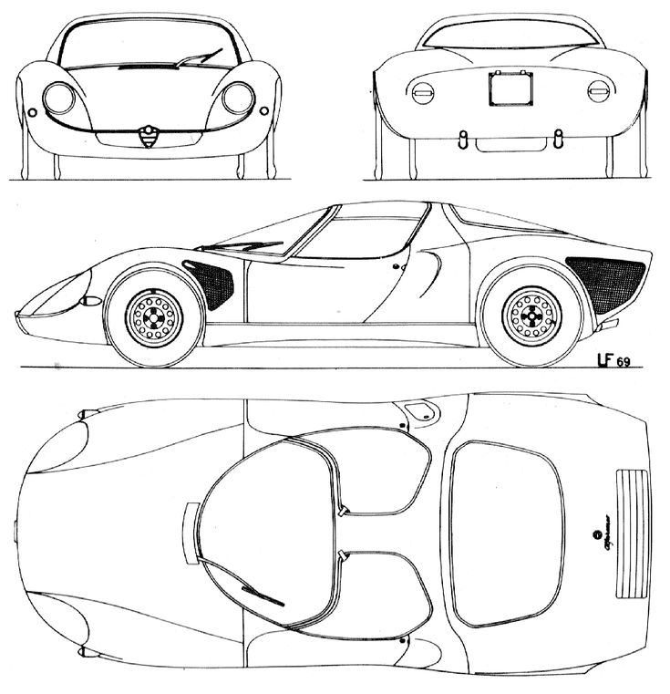 949 best images about Car drawing plans & sketches on