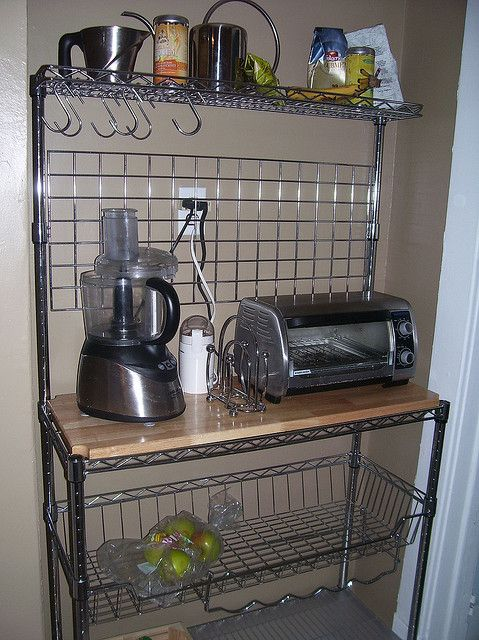 Ideas for repurposing my old bakers rack Possible coffee