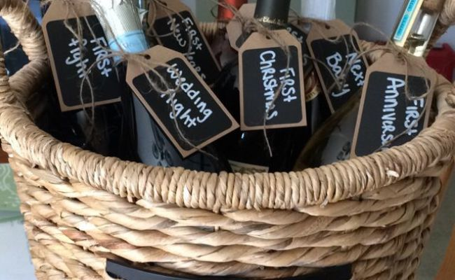 95 Best Images About Diy Wedding Wine Basket Ideas On