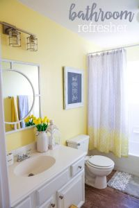 Best 25+ Yellow bathrooms ideas on Pinterest | Yellow ...