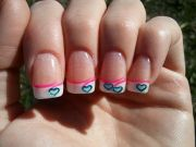 white tip french manicure