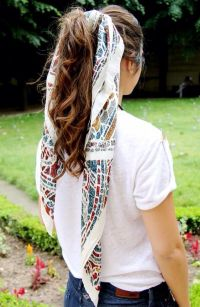 Best 25+ Scarf hairstyles ideas on Pinterest | Hair scarf ...