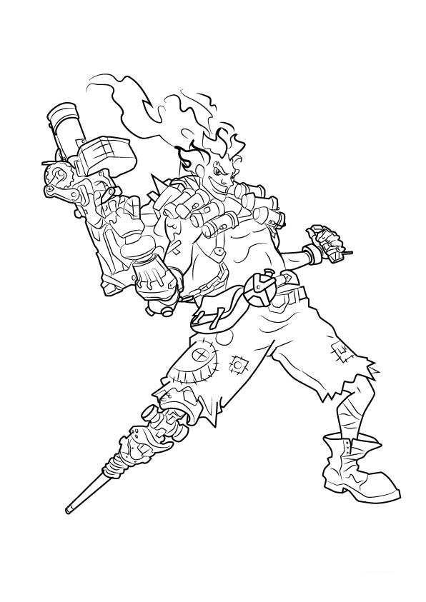38 best images about coloriage overwatch on Pinterest