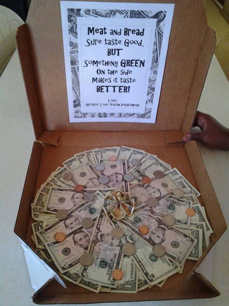 Creative Money Pizza Everyone Can Use A Little Dough