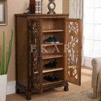 25+ best ideas about Wooden shoe cabinet on Pinterest