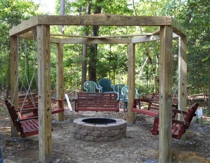 Cool Fire Pit Circle porchswings firepitcircle  Porch