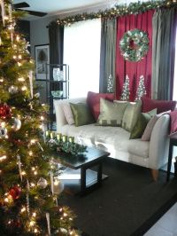 1000+ images about Christmas Curtains on Pinterest ...