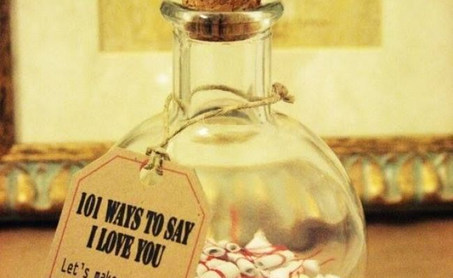 Message In The Bottle 101 Way To Say Love Valentine Gift