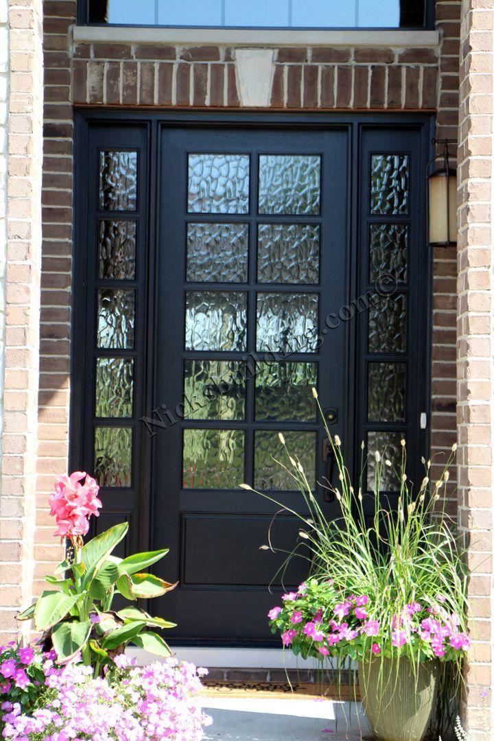 25+ best ideas about Black front doors on Pinterest