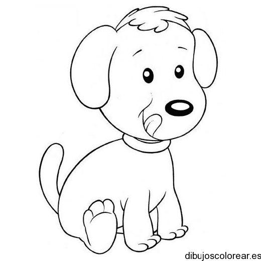 Dibujos Animados Para Colorear De Animales Tiernos