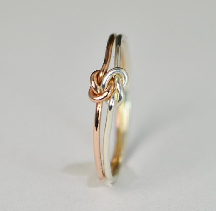 25+ best ideas about Love Knot Ring on Pinterest