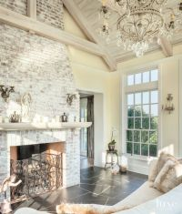 25+ best ideas about Whitewash Brick Fireplaces on ...