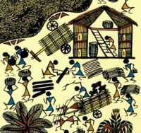 17 Best images about Warli on Pinterest | Folk art, Tree ...