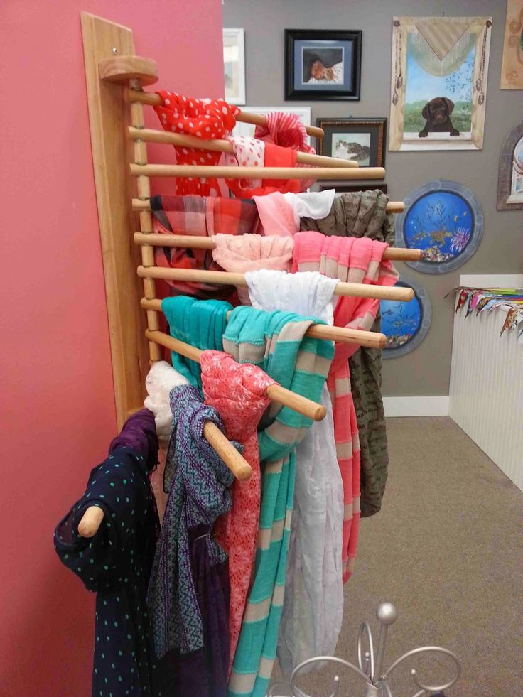 25+ best Scarf display ideas on Pinterest