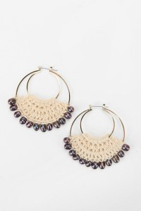 17 Best images about Crochet Earrings on Hoops on