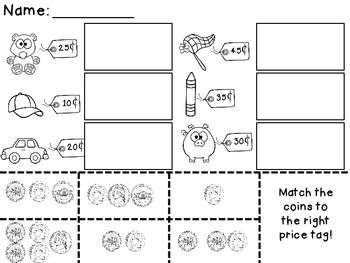 33 best images about Counting Money Worksheets on