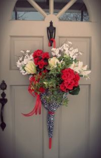 17+ best ideas about Umbrella Wreath on Pinterest | How to ...