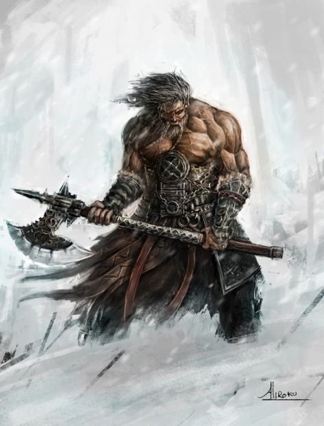 Caricature Viking Fantasy