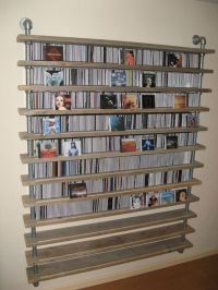 25+ best ideas about Cd Racks on Pinterest | Cd storage ...