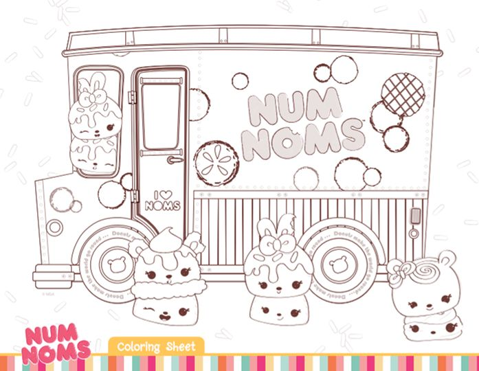 1000 Images About Num Noms Birthday Parties On Pinterest