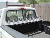 Truck Bed Rail Fishing Rod Holder All Aluminum For Small ...