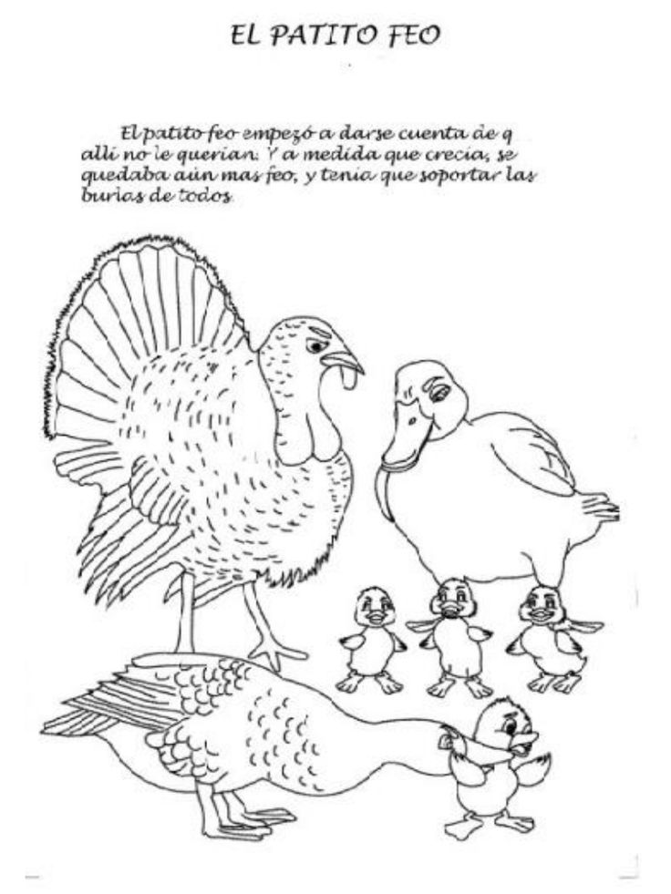 17 Best images about CUENTO EL PATITO FEO on Pinterest