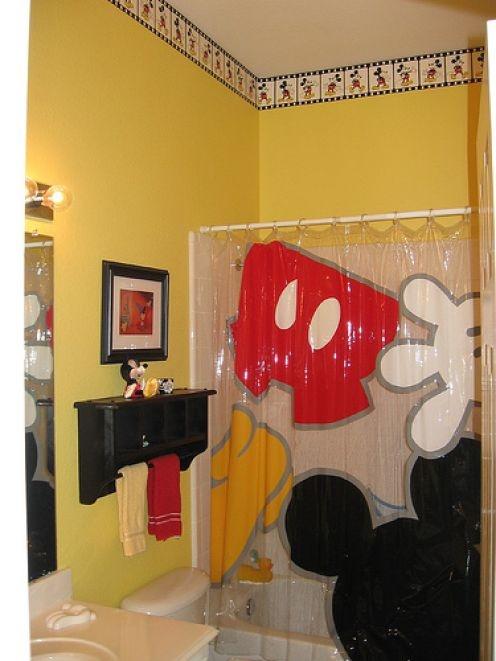 Disney Mickey Mouse Bathroom Decor Why dont the