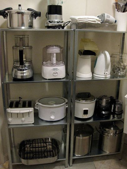good idea if you have the room (basement? garage? large utility room or pantry?)…unclog the kitchen