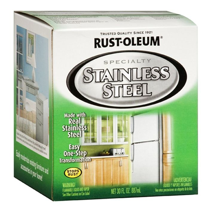 How To Faux Paint To Look Like Stainless Steel Toaster