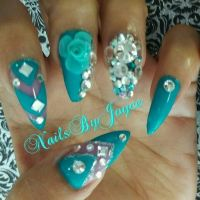 119 best images about Blinged out on Pinterest | Nail art ...