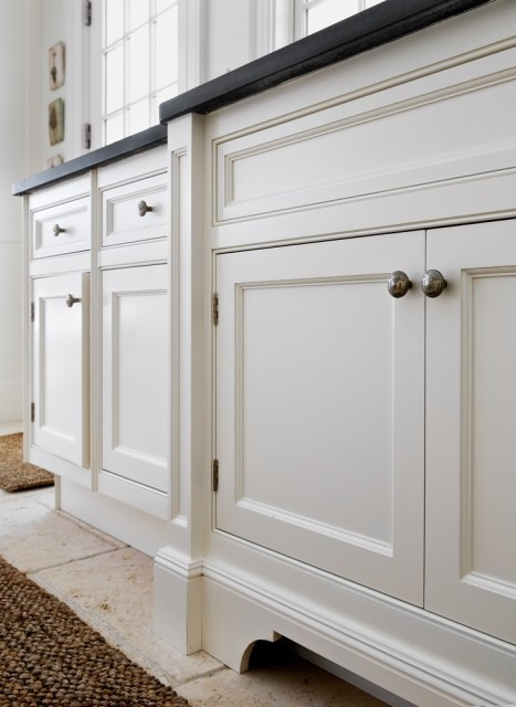 add moulding base to cabinets  Gotta Try This  Pinterest