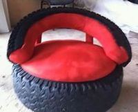 25+ bsta Tire Chairs iderna p Pinterest