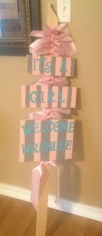 25+ best ideas about Welcome baby signs on Pinterest ...