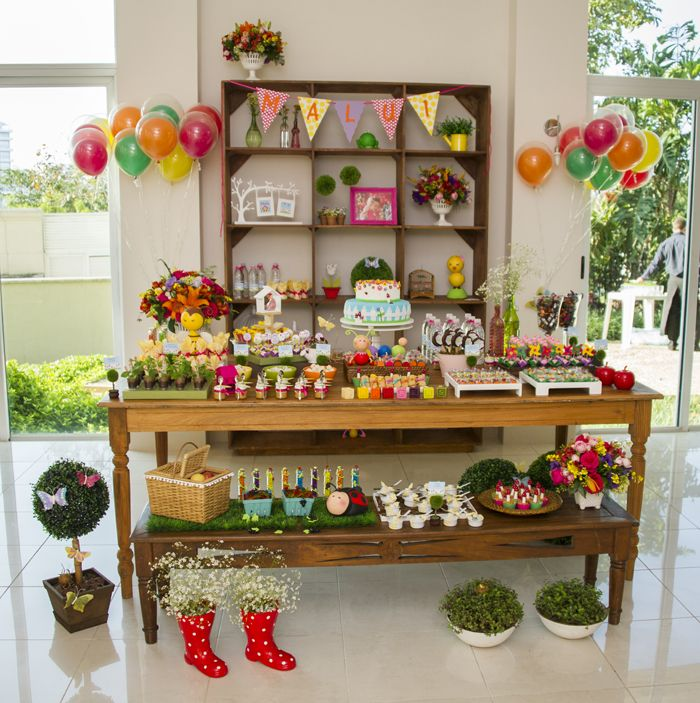 33 Best Images About Garden First Birthday Party Ideas On