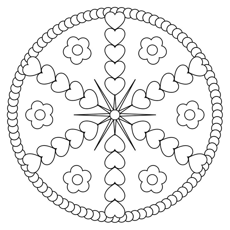 78 best images about Interesting Mandalas to Color on